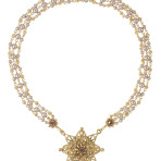 Starburst Magdala (Gold/Crystal White Pearl/Clear)