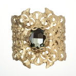 Resurrection Cuff (Gold/Black Diamond)