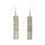 Resurrection Triple Virgin Earrings (Silver)