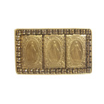 Resurrection Triple Virgin Ring (Gold/Lt. Colorado)