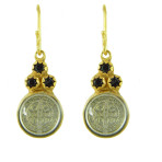 San Benito Lucia Earrings (Gold/Clear)