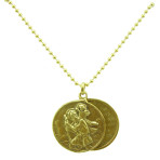 St. Christopher Locket (Gold)
