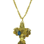 Tribal Milagro Cross (Gold)